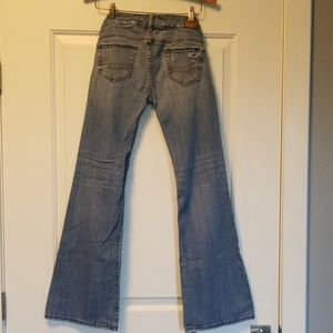 American Eagle Outfitters Jeans - American Eagle Hipster distressed jeans!